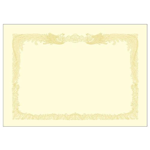 ササガワ OA賞状用紙 A3判 クリーム 10枚 10-1087