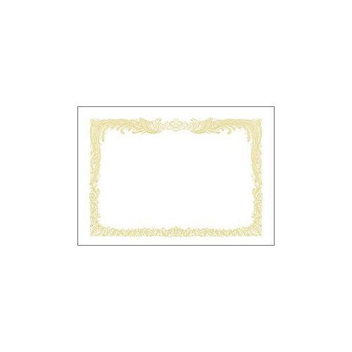 ササガワ ミニOA賞状用紙 A5判 10枚 10-550