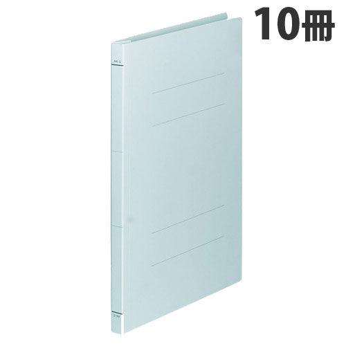 FAMS フラットファイル フラットファイル A4タテ ブルー 10冊