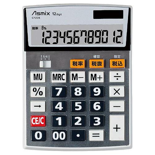 アスカ 電卓 ビジネス電卓 M C1228