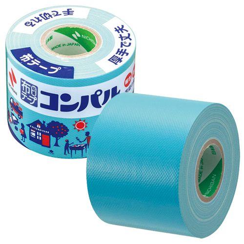 ニチバン 布粘着テープ コンパル 50mm×10m ライトブルー CPN20-50
