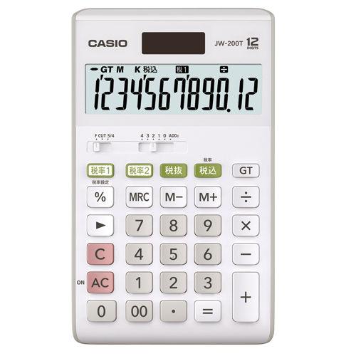 カシオ計算機 卓上電卓 12桁 JW-200T-N