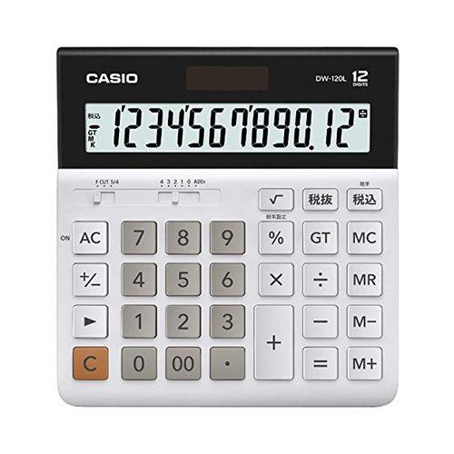 カシオ計算機 卓上電卓 12桁 DW-120L