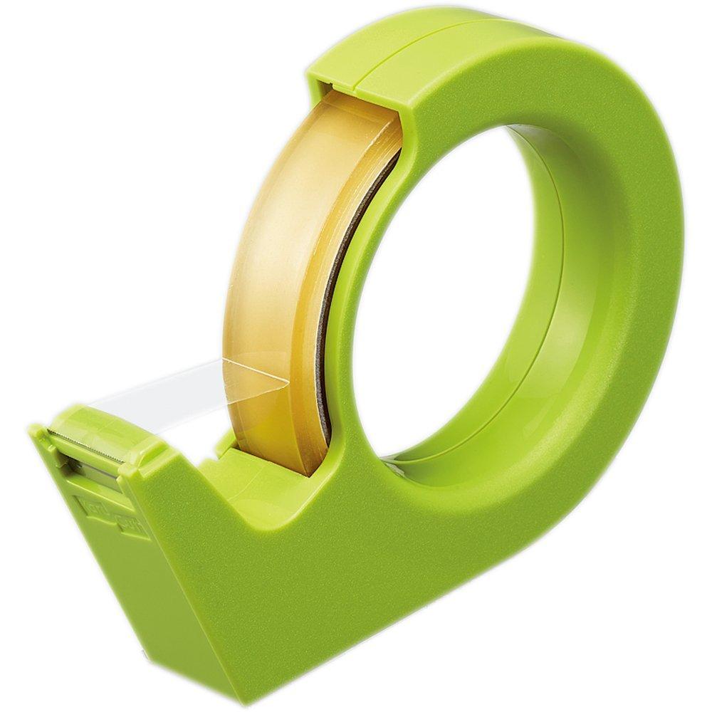 コクヨ テープカッター カルカット ハンディ 大巻き 緑 T-SM200G