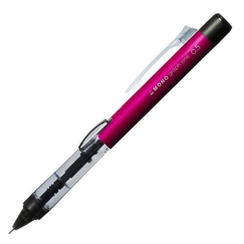 トンボ鉛筆 モノグラフワン シャープペンシル ピンク DCD-121D