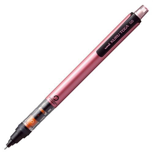三菱鉛筆 シャープペンシル クルトガ パイプスライドモデル ピンク M54521P.13