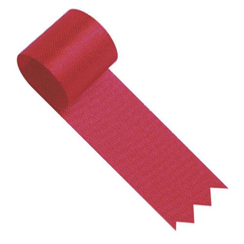 ササガワ ラッピングリボン リボン 12mm巾 赤 20m巻き 50-7223