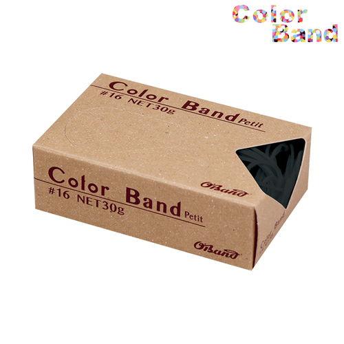 共和 輪ゴム カラーバンド オーバンド プチ ブラック 30g GGC-030-BK