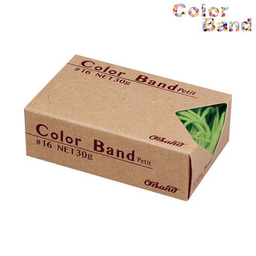 共和 輪ゴム カラーバンド オーバンド プチ ライトグリーン 30g GGC-030-LG