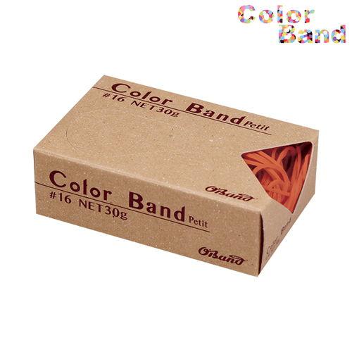 共和 輪ゴム カラーバンド オーバンド プチ オレンジ 30g GGC-030-OR