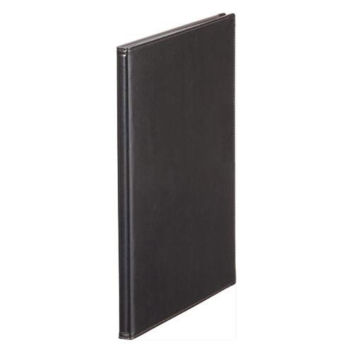 キングジム レザフェス メニューファイル A4 タテ ブラック 1972LF