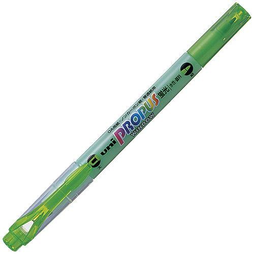 三菱鉛筆 蛍光ペン プロパスウインドウ 緑 PUS102T.6