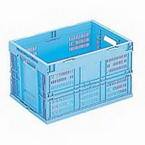 岐阜プラスチック工業 オリタタミコンテナ 50L ブルー CB-M50W