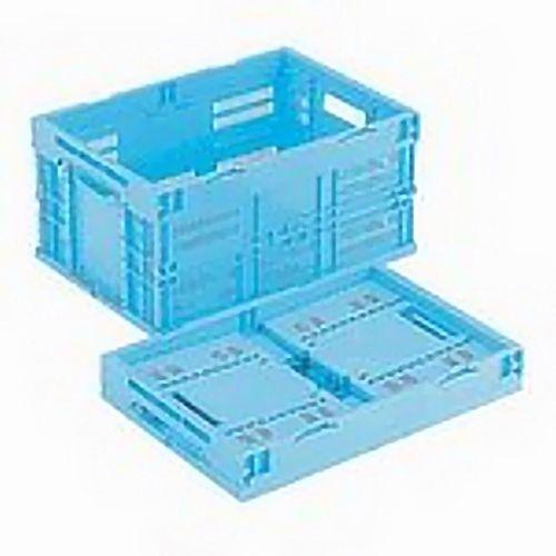 岐阜プラスチック工業 オリタタミコンテナ 42L ブルー CB-M40W