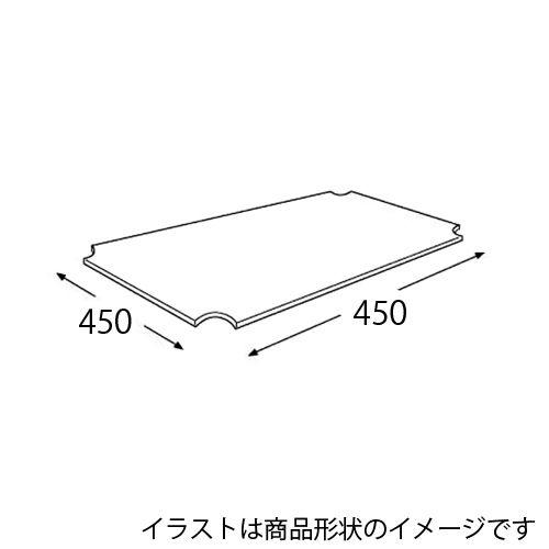 エレクター メタルラック ワイヤーシェルフ用アクリル板 H1818AB1