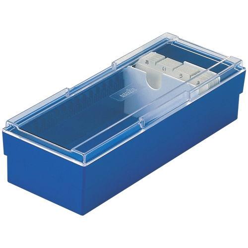 セキセイ ネームカードボックス ブルー CB-700