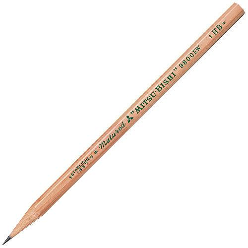 三菱鉛筆 リサイクル鉛筆 HB 12本 K9800EW