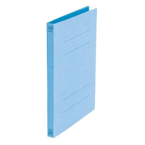 プラス フラットファイル A4S ロイヤルブルー 10冊 No.021N