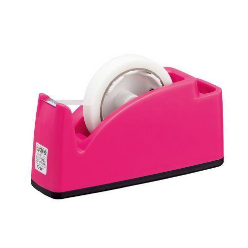 プラス テープカッター ピンク TC-201