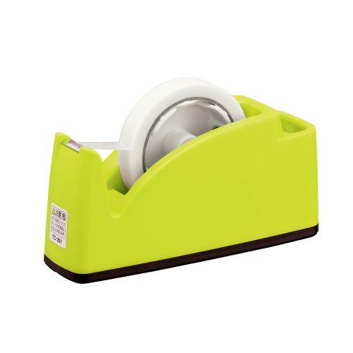 プラス テープカッター ライトグリーン TC-201