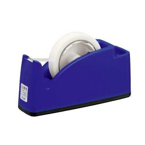 プラス テープカッター ブルー TC-201