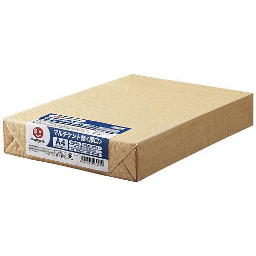 スマートバリュー マルチケント紙 厚口 A4 200枚 A046J