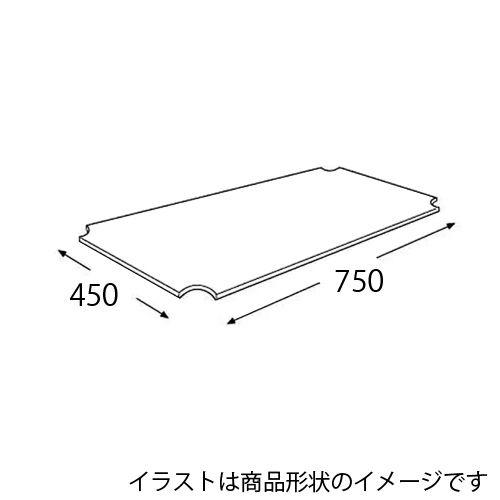 エレクター メタルラック ワイヤーシェルフ用アクリル板 H1830AB1