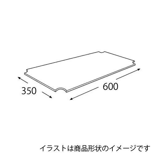 エレクター メタルラック ワイヤーシェルフ用アクリル板 H1424AB1