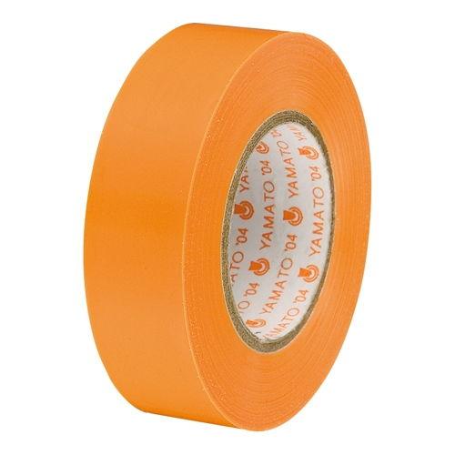 ヤマト ビニールテープ NO200-19 19mm*10m 橙