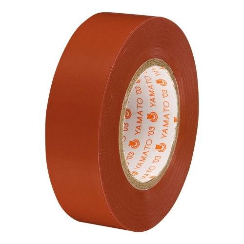 ヤマト ビニールテープ NO200-19 19mm*10m 茶