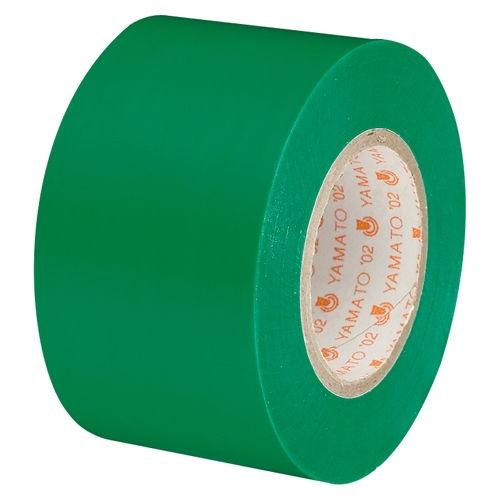 ヤマト ビニールテープ 38mm×10m 緑 NO200-38-4