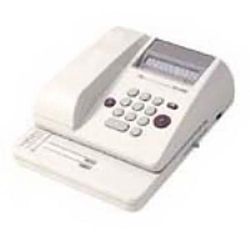 マックス 電子チェックライター EC-610C 10桁【個人宅配送不可】