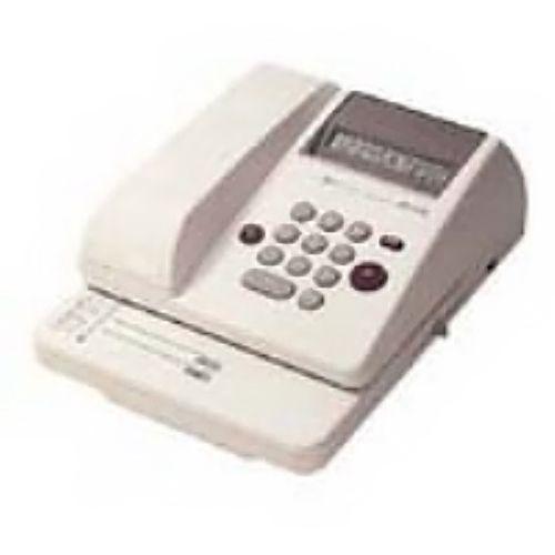 マックス 電子チェックライター EC-510 10桁【個人宅配送不可】