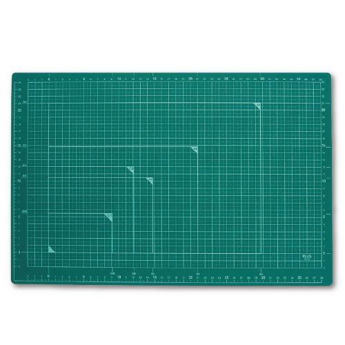 プラス カッターマット A3 緑 CS-A3 GR