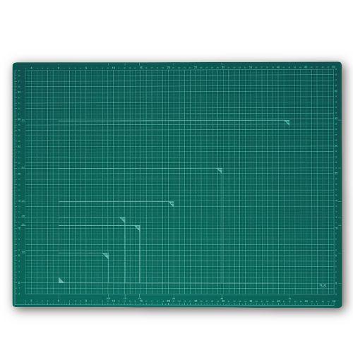 プラス カッターマット A2 緑 CS-A2 GR