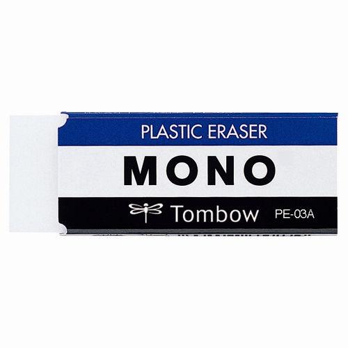 トンボ鉛筆 消しゴム MONO 中 PE-03A