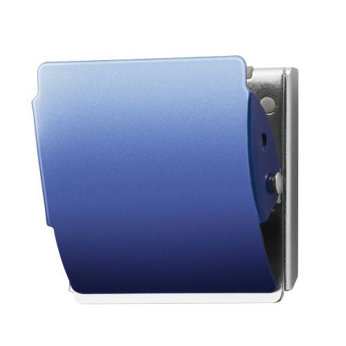 プラス マグネットクリップ M ブルー CP-040MCR