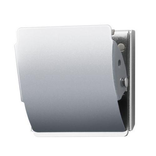 プラス マグネットクリップ M シルバー CP-040MCR