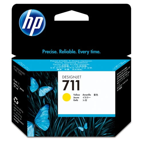 HP 純正インク HP711 CZ132A イエロー