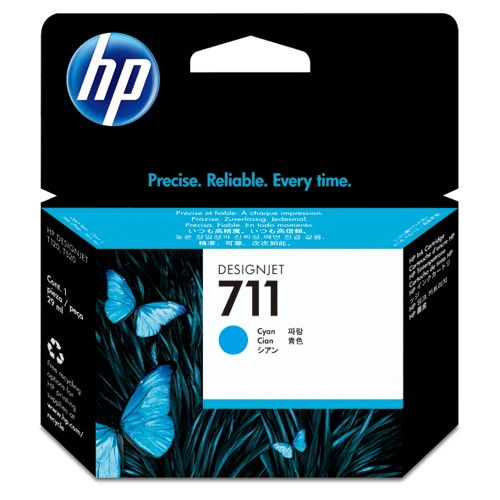 HP 純正インク HP711 CZ130A シアン