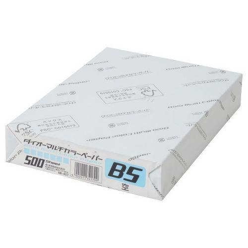 大王製紙 マルチカラー紙 B5 空 500枚 CW-610C
