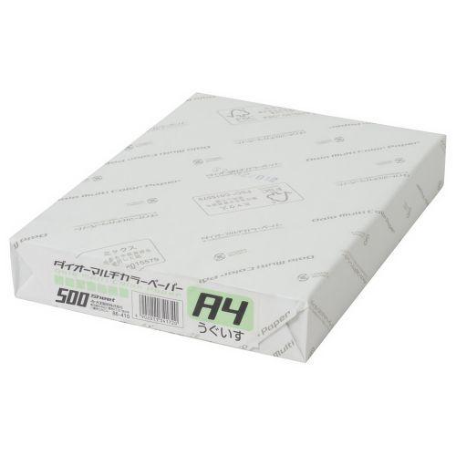 大王製紙 マルチカラー紙 A4 うぐいす 500枚 CW-620C