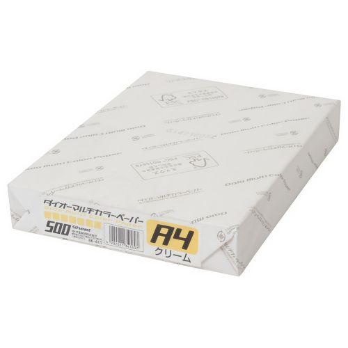 大王製紙 マルチカラー紙 A4 クリーム 500枚 CW-620C