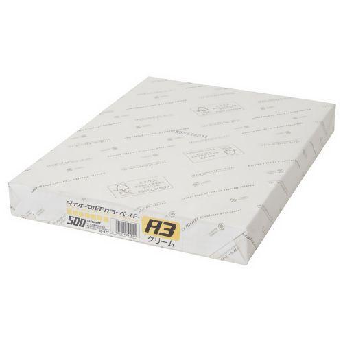 大王製紙 マルチカラー紙 A3 クリーム 500枚 CW-640C