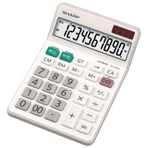 シャープ 電卓 EL-N431X