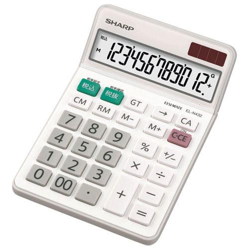 シャープ 電卓 EL-N432X