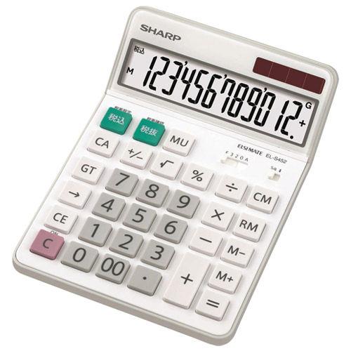 シャープ 電卓 EL-S452X