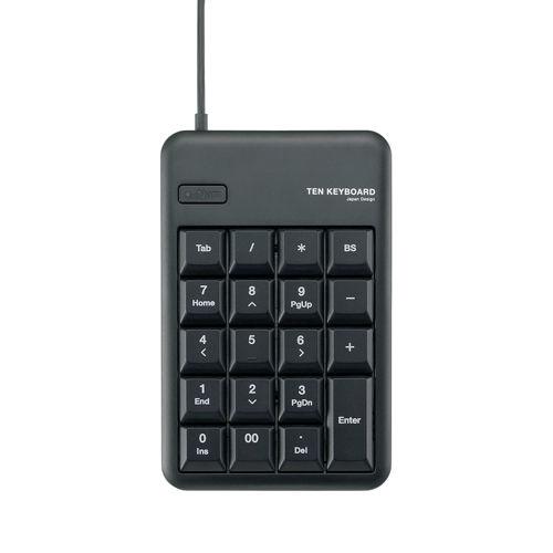 エレコム USBテンキー ブラック TK-TCM011BK/RS