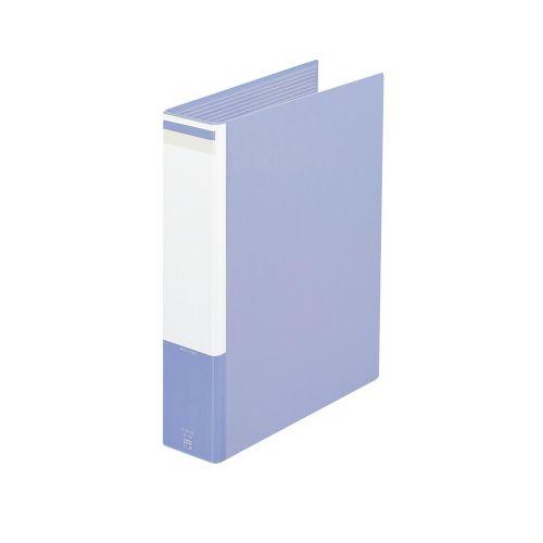 プラス 2バルキーファイル A4タテ ブルー FL-005OB