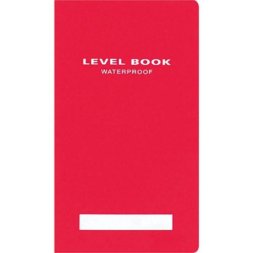 コクヨ レベルブック 測量野帳 ブライトカラー 赤 30枚 セ-Y31R